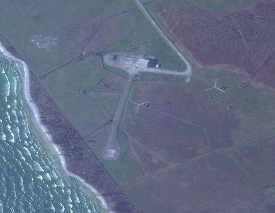 Avro Arrow model launch pad at Point Petre