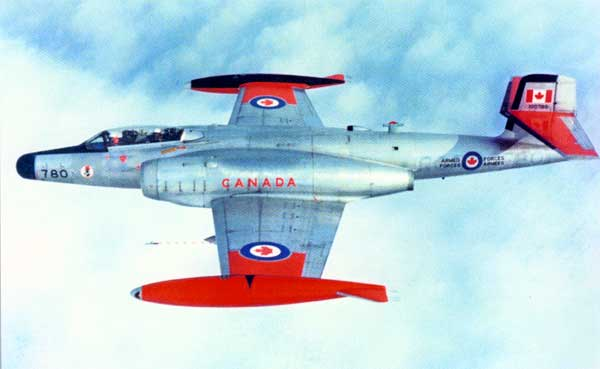The Canadian designed Avro CF-100 Canuck