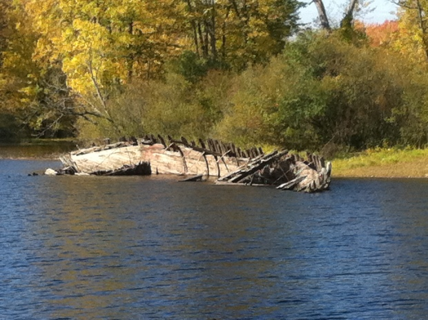 After being abandoned in the Ottawa River, the once cherished subject of an NFB film now lies in decay on the shores of the Ottawa River.