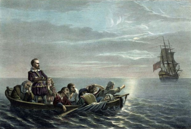 A depiction of the mutiny by Francis Davignon.