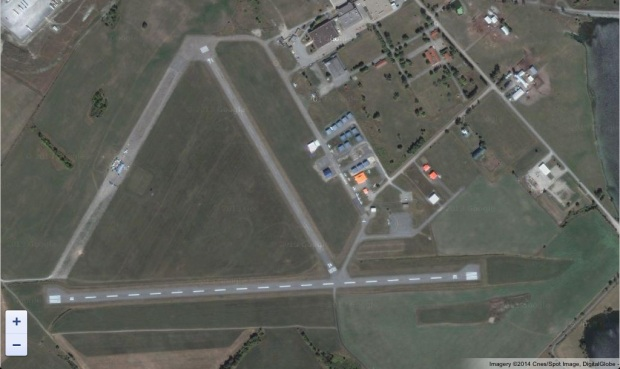 Aerial view of present day RCAF Arnprior air base. It is currently a public airport.