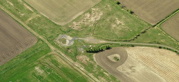 A recent aerial image of how Area 9 looks today.