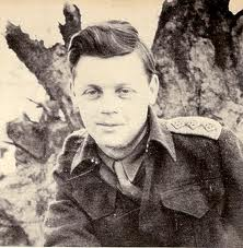 Captain Farley Mowat during WW2.
