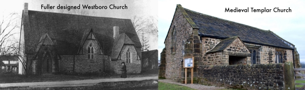 Comparison of Fuller's Westboro church to a Templar church.