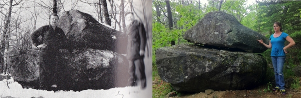 In 1953 two men discovered a large rock in the deep woods near Renfrew. Inscribed on its surface was an apparent message from Samuel de Champlain.
