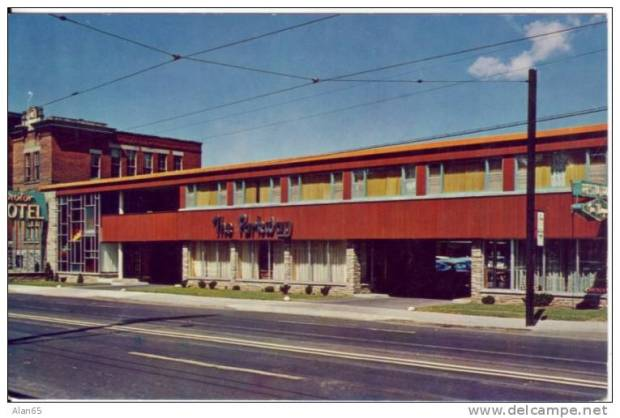 "It is not mentioned in the novel, but Fleming often puts Bond in motels when he travels within North America. Entering Ottawa, bond most likely would have checked into ""The Parkway"" motel on Montreal Road (Hwy17) that was popular in the 1950s."