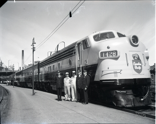 A Canadian Pacific train like this one would have travelled along the SJAM in 1958. (City Of Ottawa archives photo)