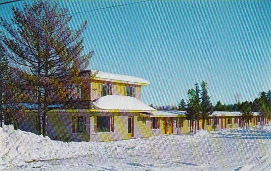 The Cedarview Motel from a 1950s postcard. (delcampe)