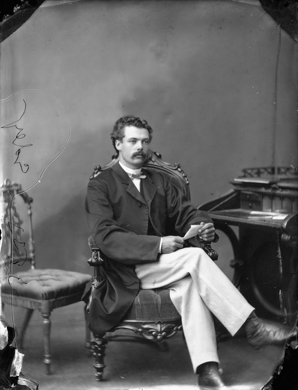 The Franktown church's architect, Moses Chamberlain Edey, who also designed the Aberdeen Pavilion and Daly Building in Ottawa.