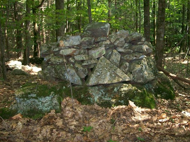 Another North Eastern United States Stone Cairn structure.