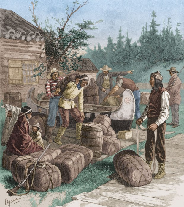 A typical 1800's trading post of that would have been a similar scene at the property on Mondion Point.