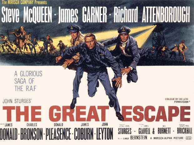 Glover was a prisoner at Stalag Luft III, the prison camp that was the scene of the Great Escape, later made into a Hollywood film.