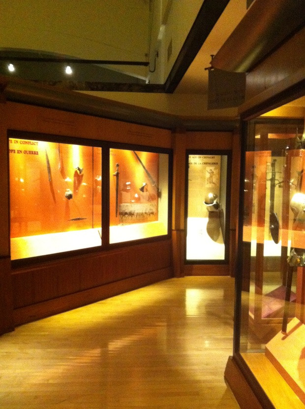 The Beardmore relics are displayed in ROM without mention of their discovery or how they got there.