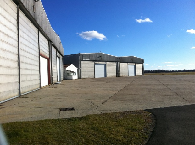 A unique abandoned Cold War fighter jet hangar sits forgotten in Ottawa.