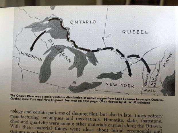 An Ancient Path Along The Ottawa River  OTTAWA REWIND