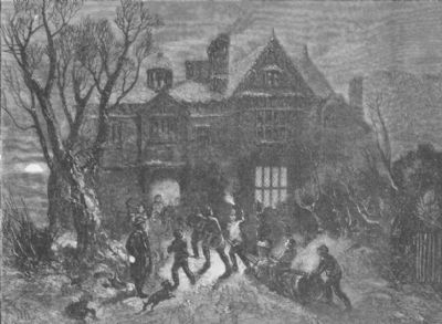 christmas-bringing-home-the-yule-log-antique-print-1854-94971-pekm400x293ekm