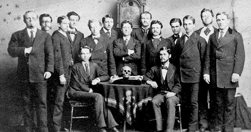 Skull and bones secret society