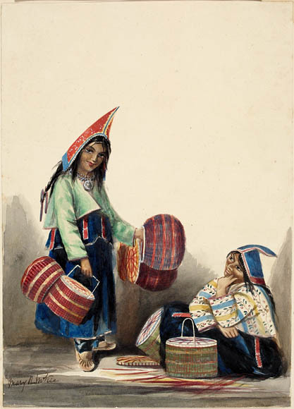 Mi'Kmaq_Women_Selling_Baskets,_Halifax,_Nova_Scotia